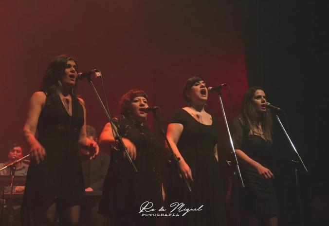 Gabriela Gutierrez Girard, Emma Laura Pardo, Marina Wilensky y Valeria García